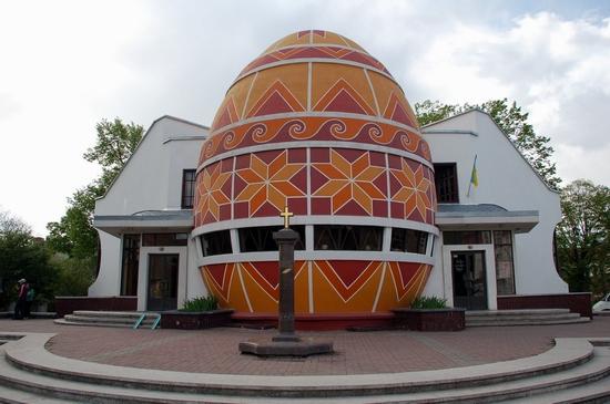 Pysanka museum, Kolomiya, Ukraine view 2