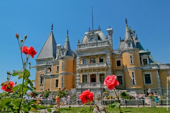 Massandra Palace, Yalta, Crimea view 1