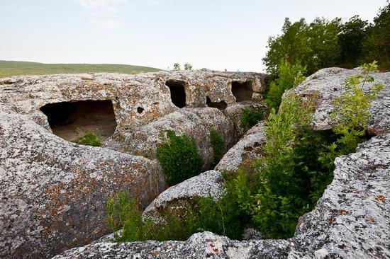 Eski-Kermen - medieval underground fortress-city view 10