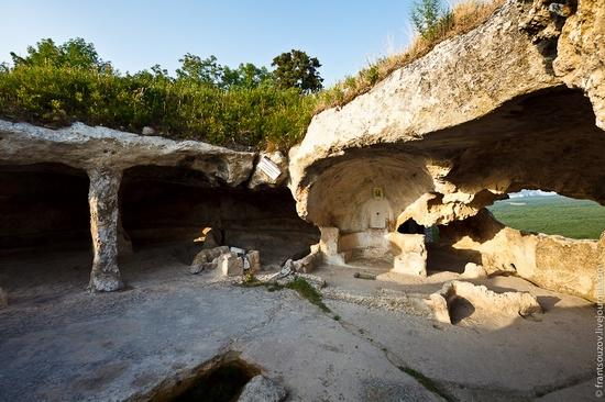 Eski-Kermen - medieval underground fortress-city view 18
