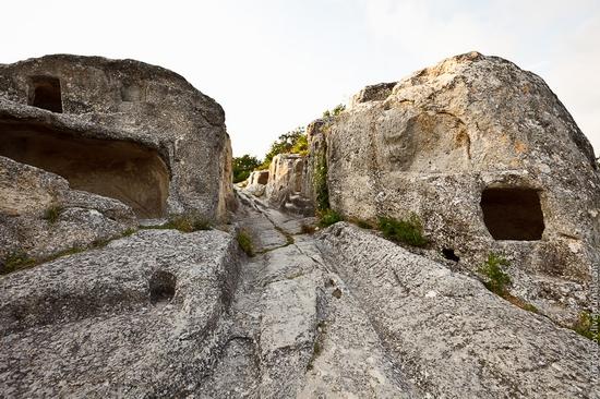 Eski-Kermen - medieval underground fortress-city view 20