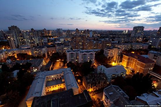 Kiev night time view 11