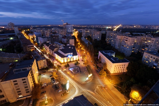 Kiev night time view 12