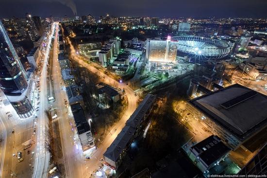 Kiev night time view 17