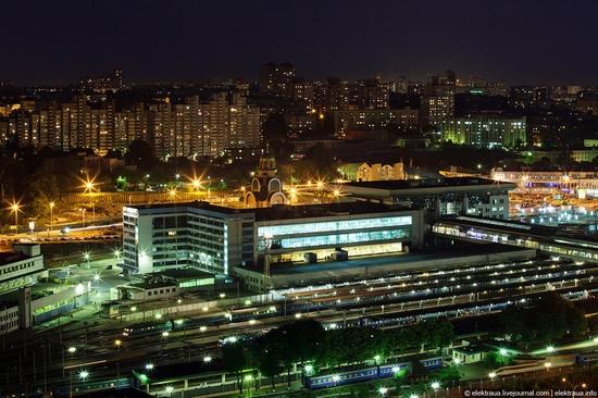 Kiev night time view 7