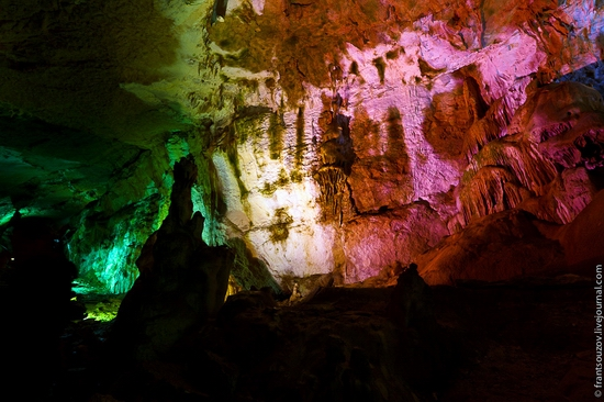 The Marble Cave, Crimea, Ukraine view 9