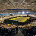 Opening ceremony of the biggest stadium of EURO-2012