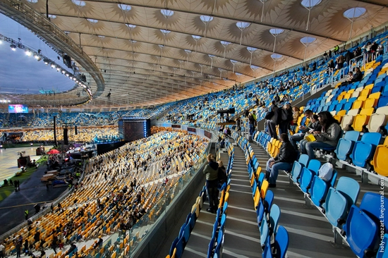 NSC Olympic, Euro-2012 stadium, Kiev, Ukraine view 10
