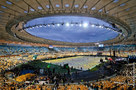 NSC Olympic, Euro-2012 stadium, Kiev, Ukraine view 11