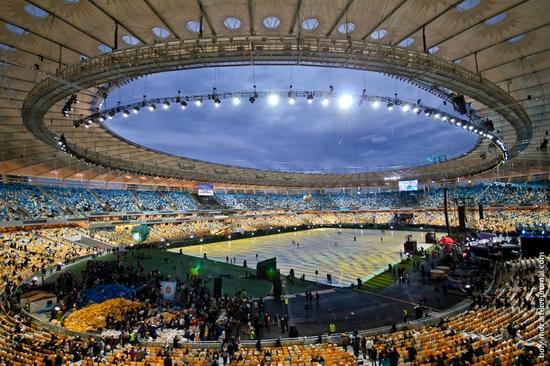 NSC Olympic, Euro-2012 stadium, Kiev, Ukraine view 11