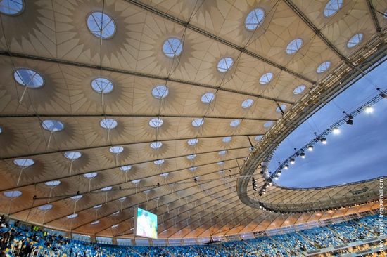 NSC Olympic, Euro-2012 stadium, Kiev, Ukraine view 12