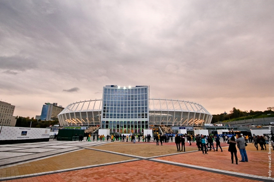 NSC Olympic, Euro-2012 stadium, Kiev, Ukraine view 2