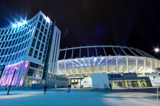 NSC Olympic, Euro-2012 stadium, Kiev, Ukraine view 22