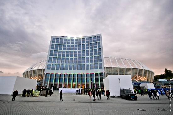 NSC Olympic, Euro-2012 stadium, Kiev, Ukraine view 3