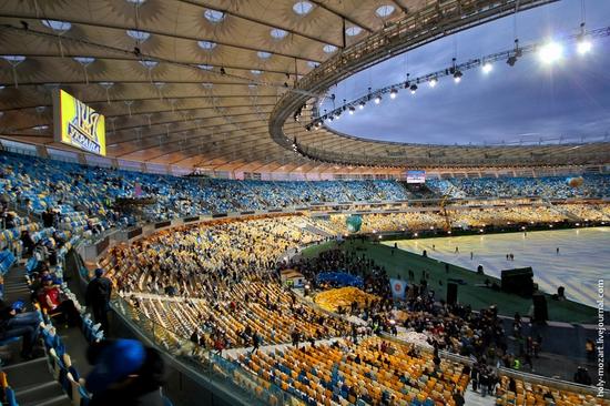 NSC Olympic, Euro-2012 stadium, Kiev, Ukraine view 9