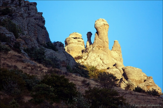 The Valley of Ghosts, Alushta, Crimea, Ukraine view 2