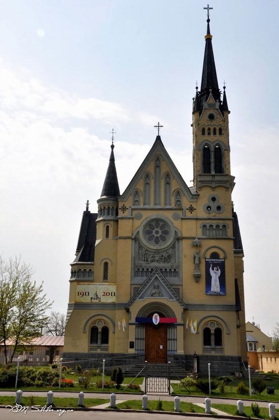 Roman Catholic Church, Fastiv, Ukraine view 1
