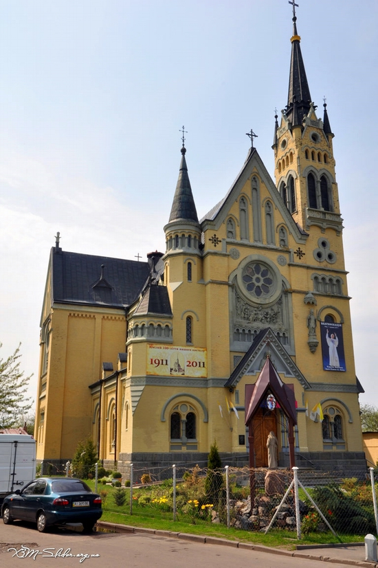 Roman Catholic Church, Fastiv, Ukraine view 2