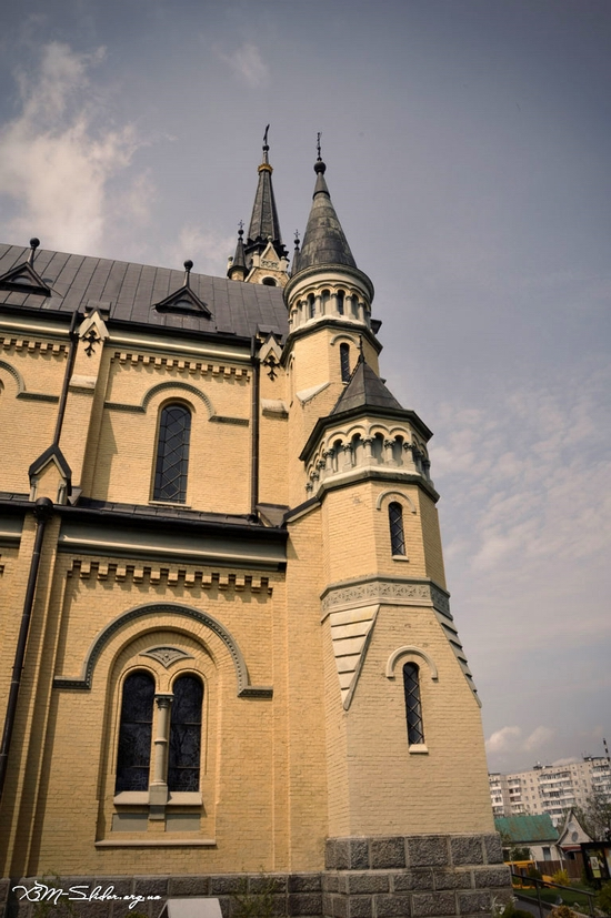 Roman Catholic Church, Fastiv, Ukraine view 3