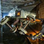 Mysterious underground maze of Odessa city