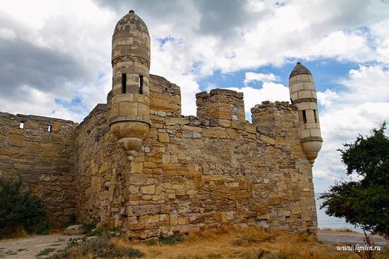 Yeni-Kale fortress, Crimea, Ukraine view 1