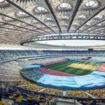 The stadium of Euro 2012 final match