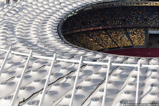Olimpiyskiy stadium, Kiev, Ukraine view 10