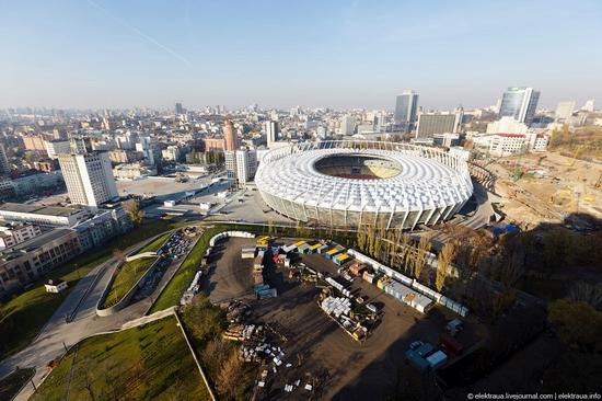 Olimpiyskiy stadium, Kiev, Ukraine view 11
