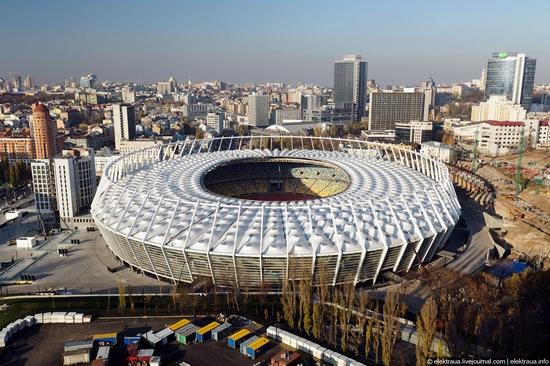 Olimpiyskiy stadium, Kiev, Ukraine view 12