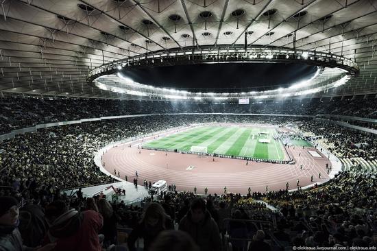 Olimpiyskiy stadium, Kiev, Ukraine view 13