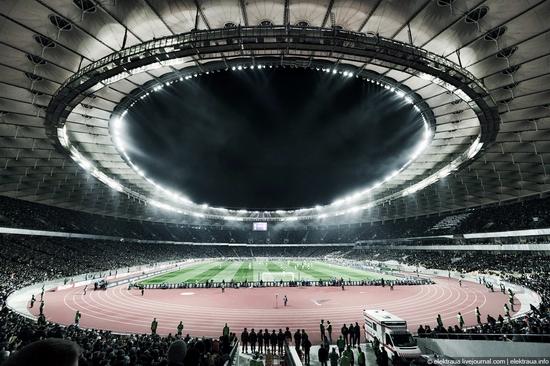 Olimpiyskiy stadium, Kiev, Ukraine view 15