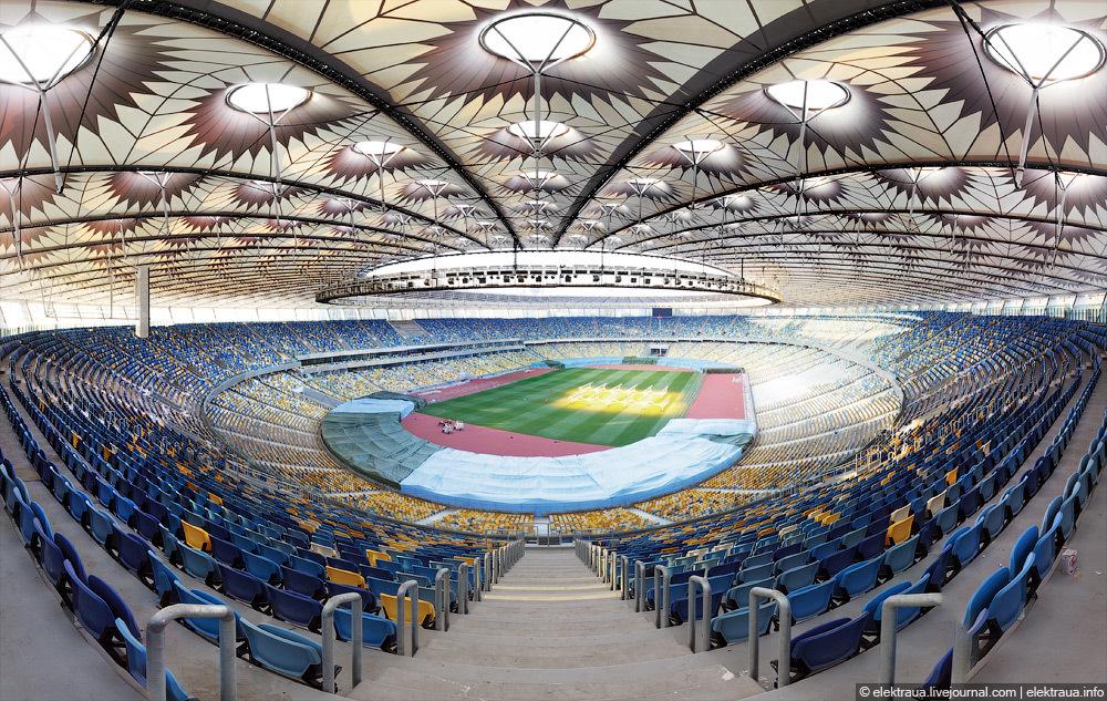 The Stadium Of Euro 2012 Final Match 183 Ukraine Travel Blog