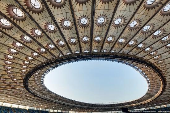 Olimpiyskiy stadium, Kiev, Ukraine view 3