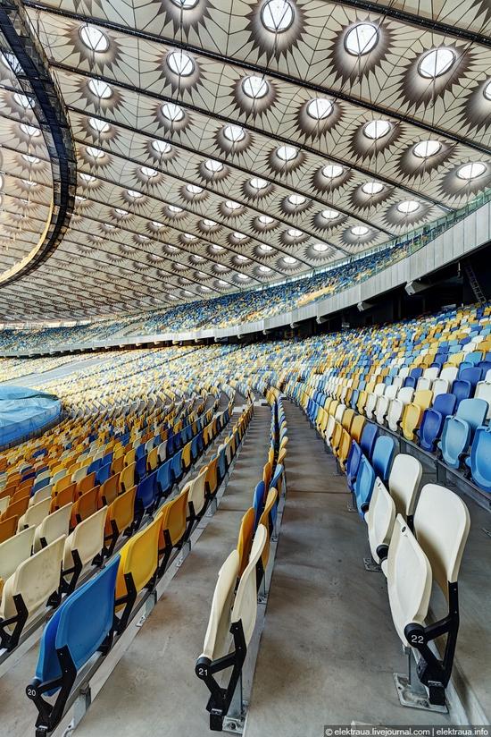 Olimpiyskiy stadium, Kiev, Ukraine view 7