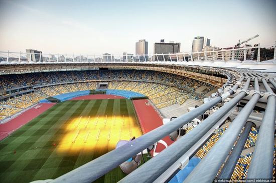 Olimpiyskiy stadium, Kiev, Ukraine view 9