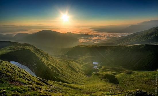 Ukrainian Carpathians landscape 1