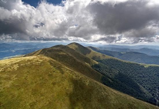 Ukrainian Carpathians landscape 13
