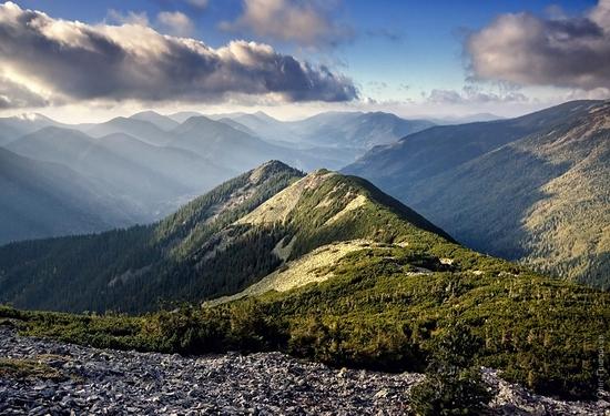 Ukrainian Carpathians landscape 14