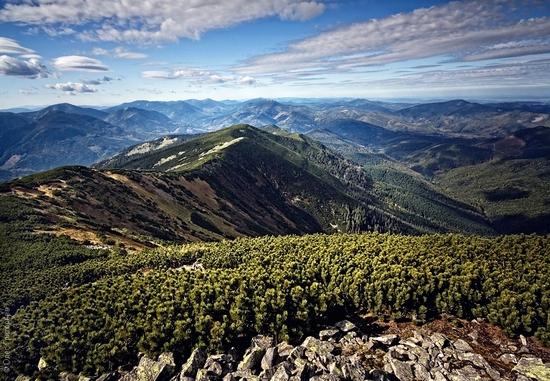 Ukrainian Carpathians landscape 16