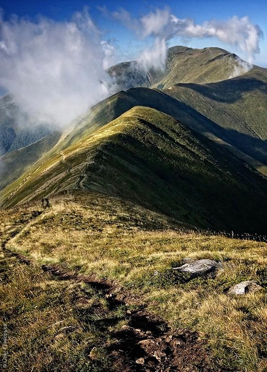 Ukrainian Carpathians landscape 17