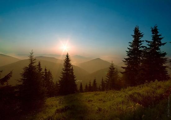 Ukrainian Carpathians landscape 19