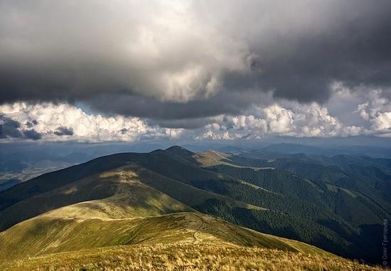 Ukrainian Carpathians landscape 2