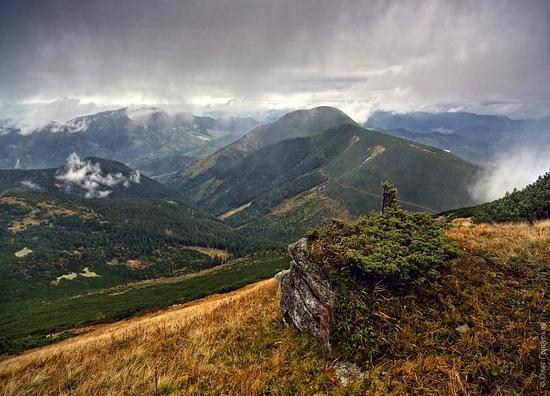 Ukrainian Carpathians landscape 22