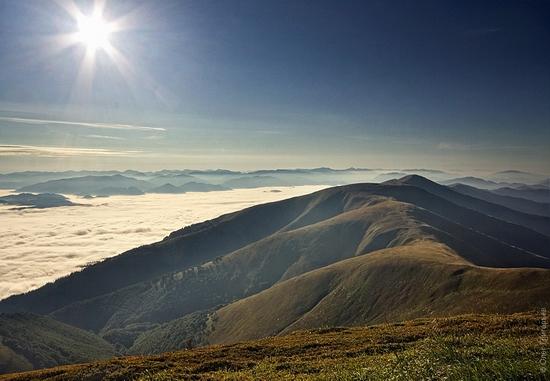 Ukrainian Carpathians landscape 4