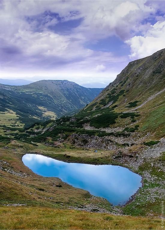 Ukrainian Carpathians landscape 8