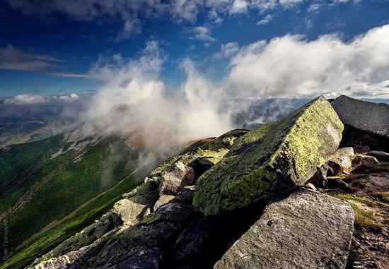 Ukrainian Carpathians landscape 9