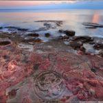 The drawings on the rocks near Sevastopol