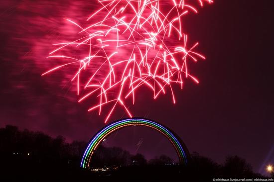 New Year's Eve, Kiev street view 1