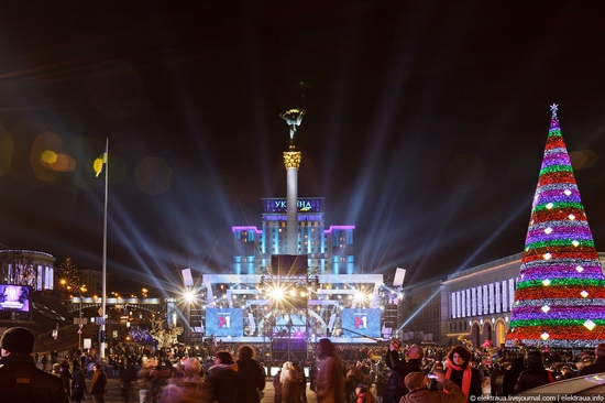 New Year's Eve, Kiev street view 14