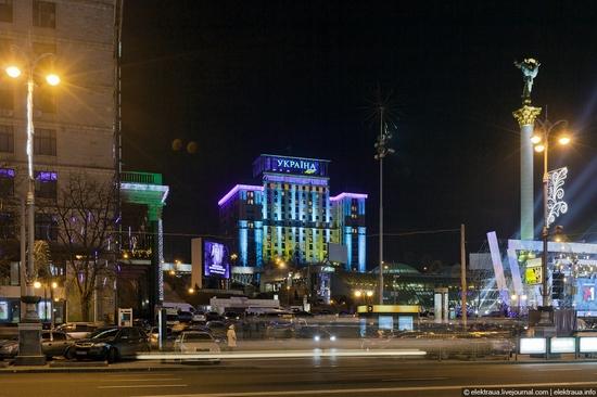 New Year's Eve, Kiev street view 15